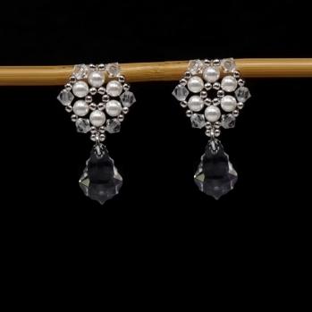 Kolczyki perłowe model: 0173